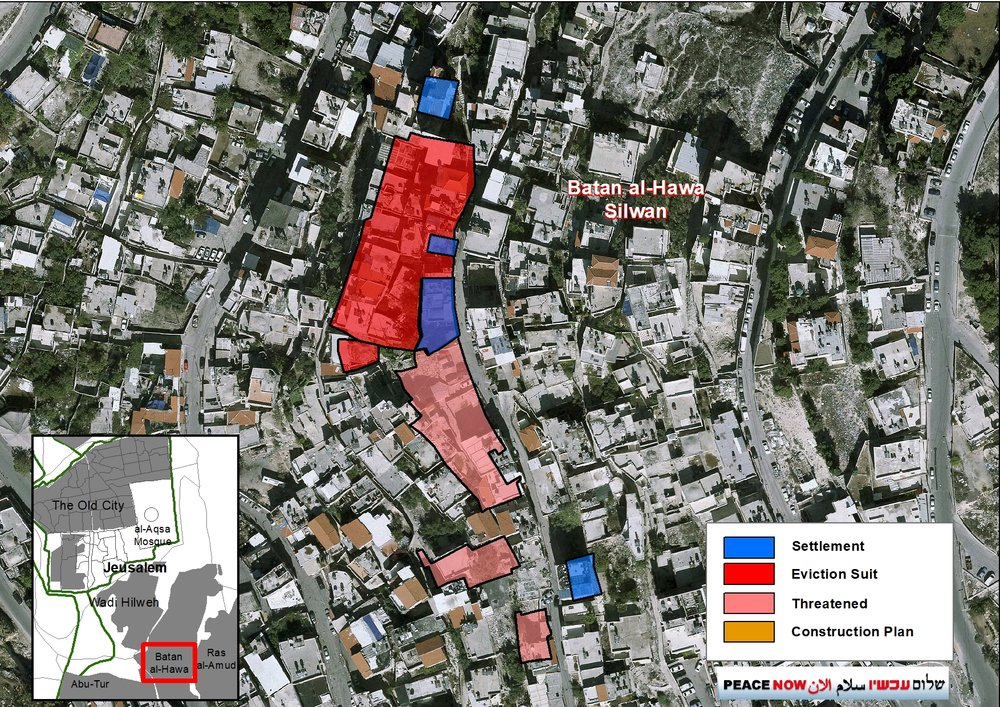 Just last month, Israeli courts rules that 700 Palestinians living in Silwan will be evicted by Elad and their allies to make room for this Jewish settlement. Birthright participants don't hear that story — or any other stories of the realities of Occupation for millions of Palestinians living in East Jerusalem, the West Bank, and Gaza.  Image Source: PEACE NOW