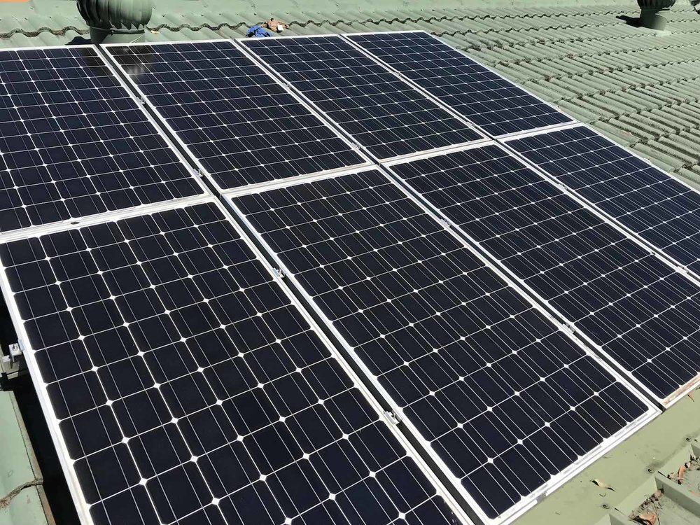 Clean solar panels work better and look better.