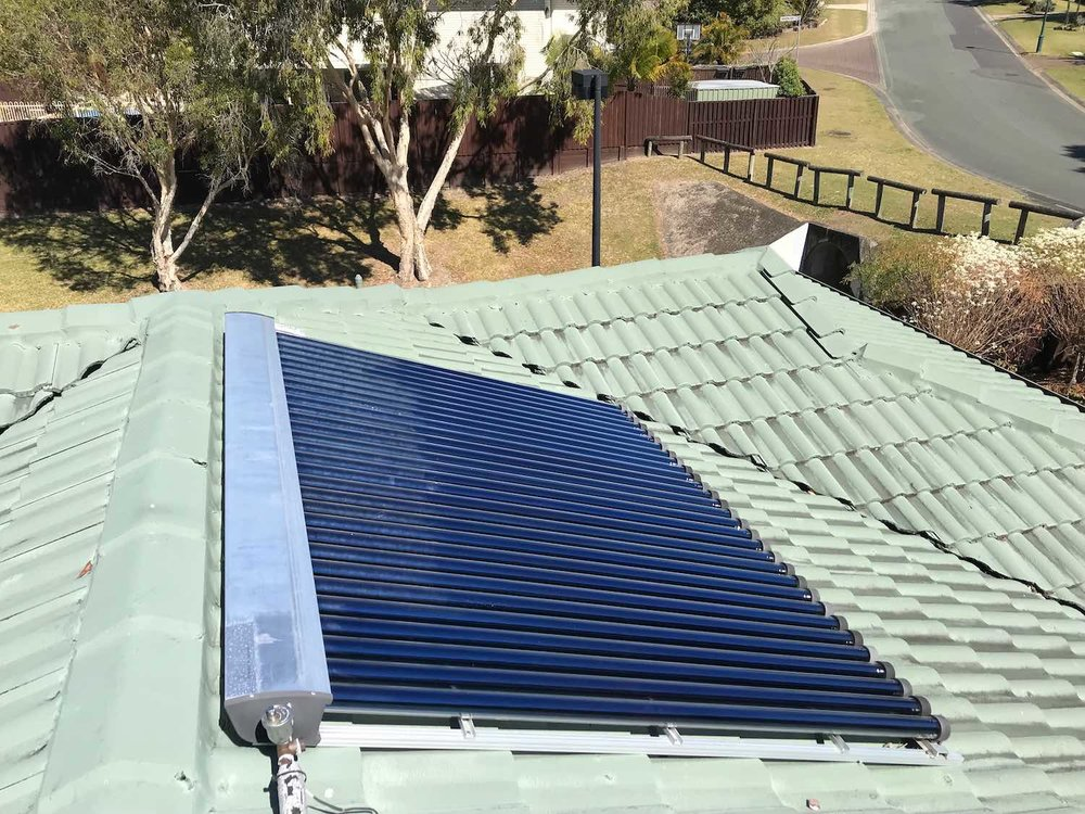 These are solar tubes rather than solar panels, but still perform better when clean.