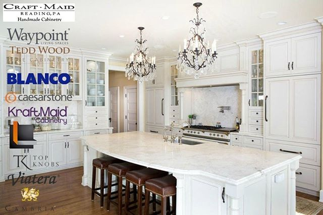 We design the finest kitchen and bathroom spaces. We partner with some of the industry's finest suppliers to give you a wide array of styles and materials. We have done over 30,000 kitchens on the east coast and have 30 years of experience.