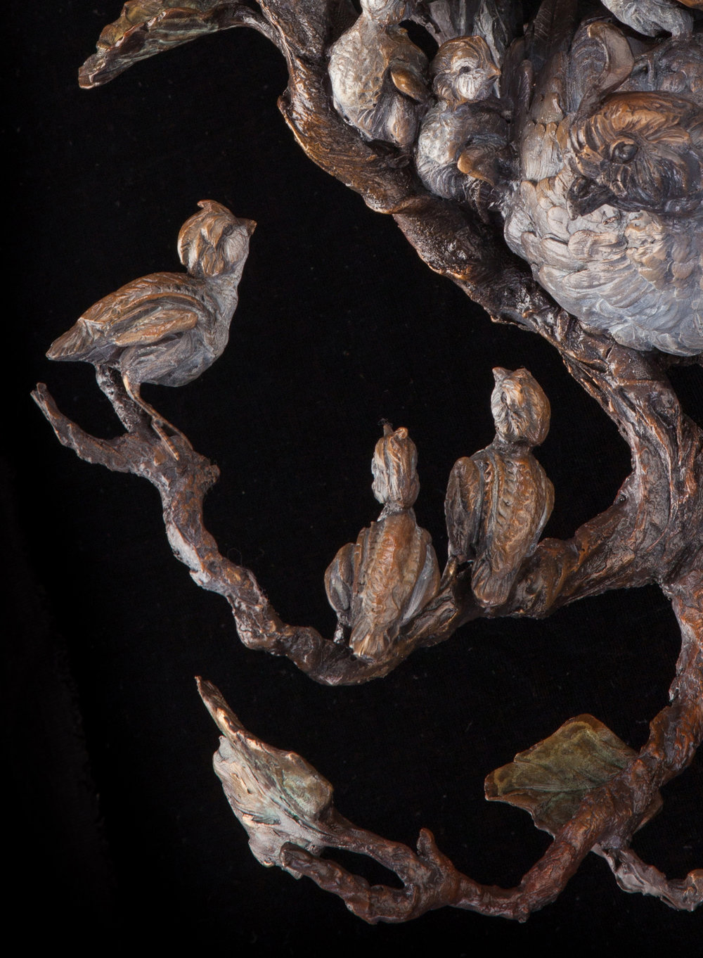 "Branching Out | 13"" x 12"" x 10"" 