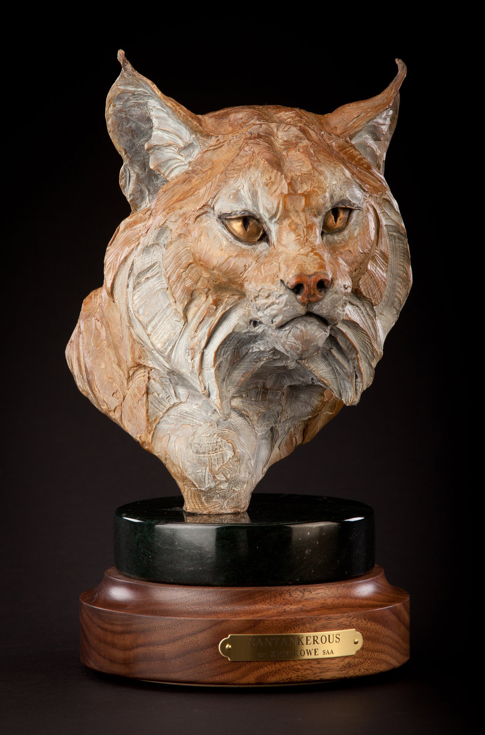 "Cantankerous | 11"" x 7"" x 8"" 