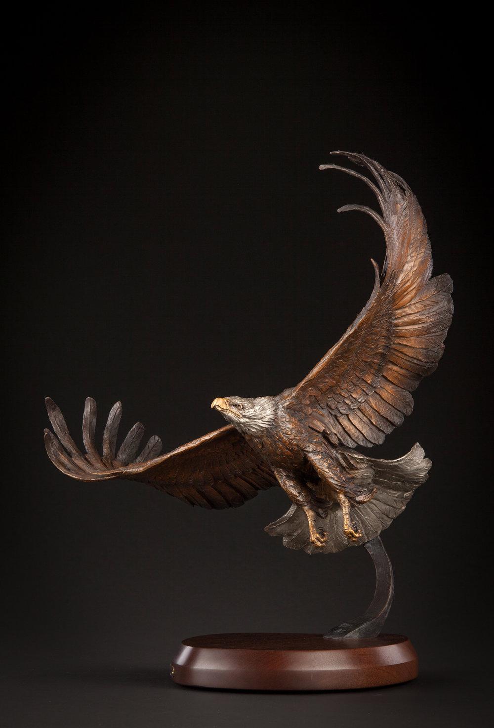 "Glory | 22"" x 28"" x 14"" | Bronze | Ltd Edition of 35 | $5,900"