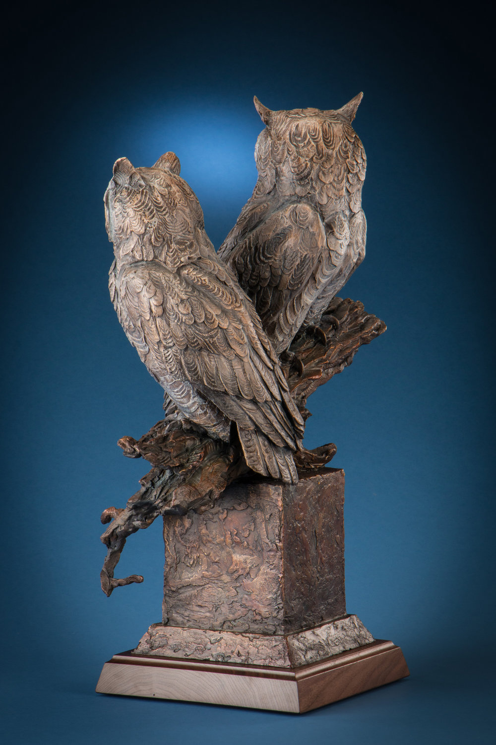 "Rise of the Hunters' Moon | 26"" x 18.5' x 10"" 