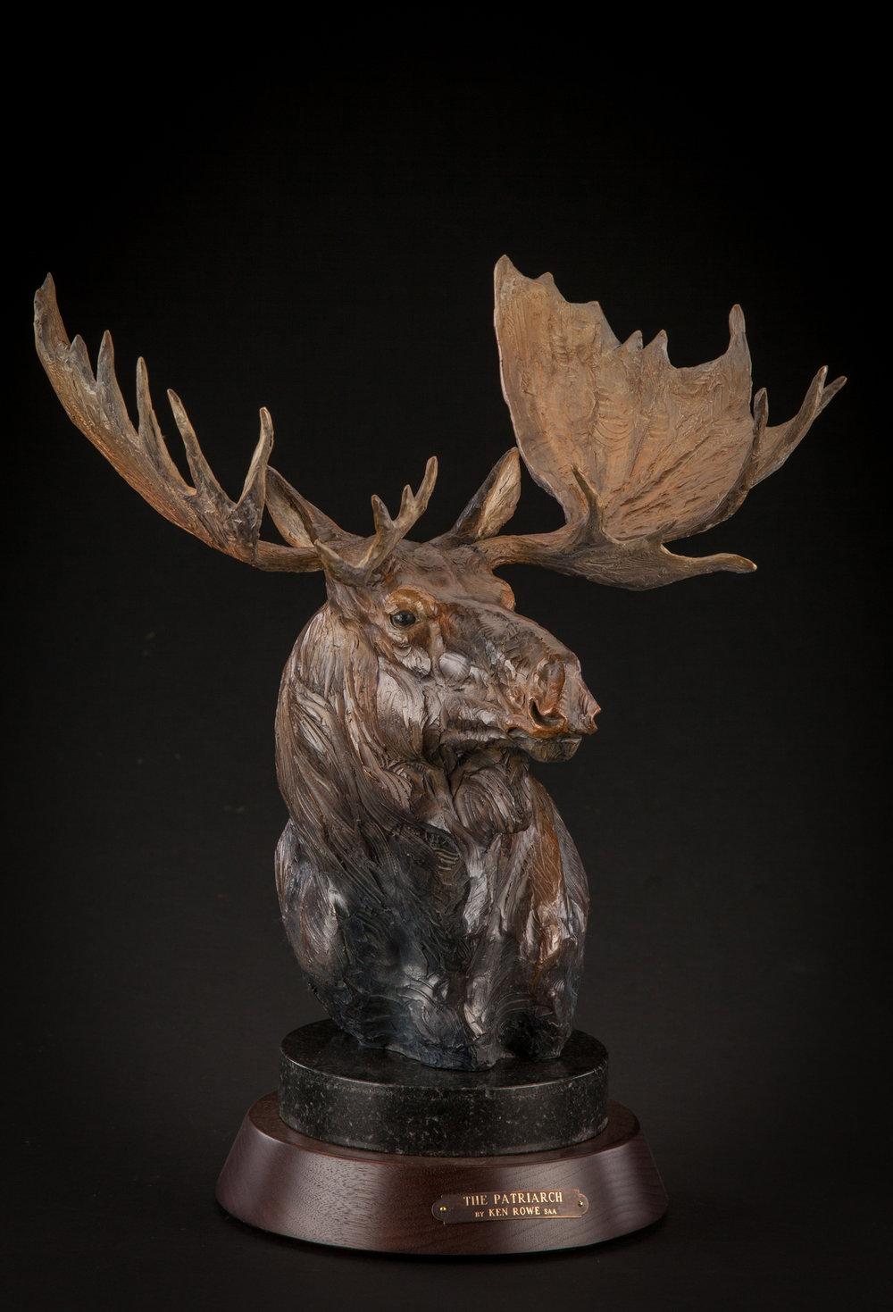 "The Patriarch | 19"" x 14"" x 11"" | Bronze | Original Bronze | $3,200"