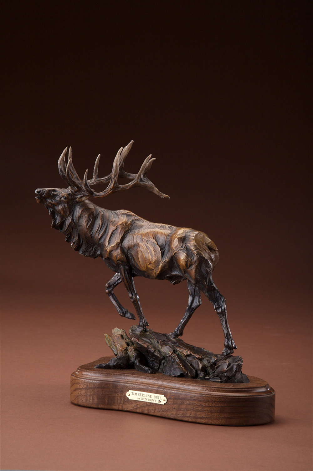 "Timberline Bull Maquette | 10.5"" x 10"" x 5.5"" 