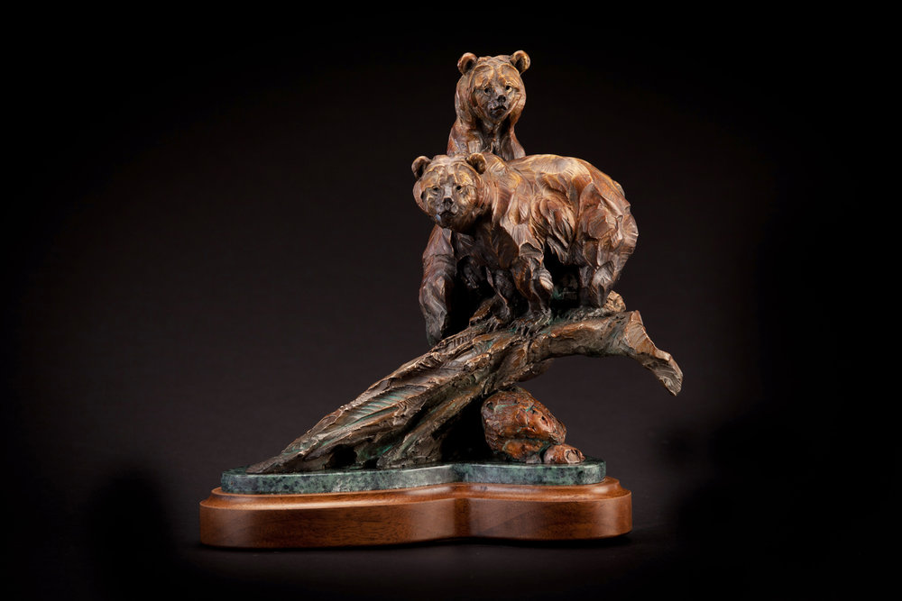 "Wading for Mom | 10.5"" x 10.5"" x 5"" 