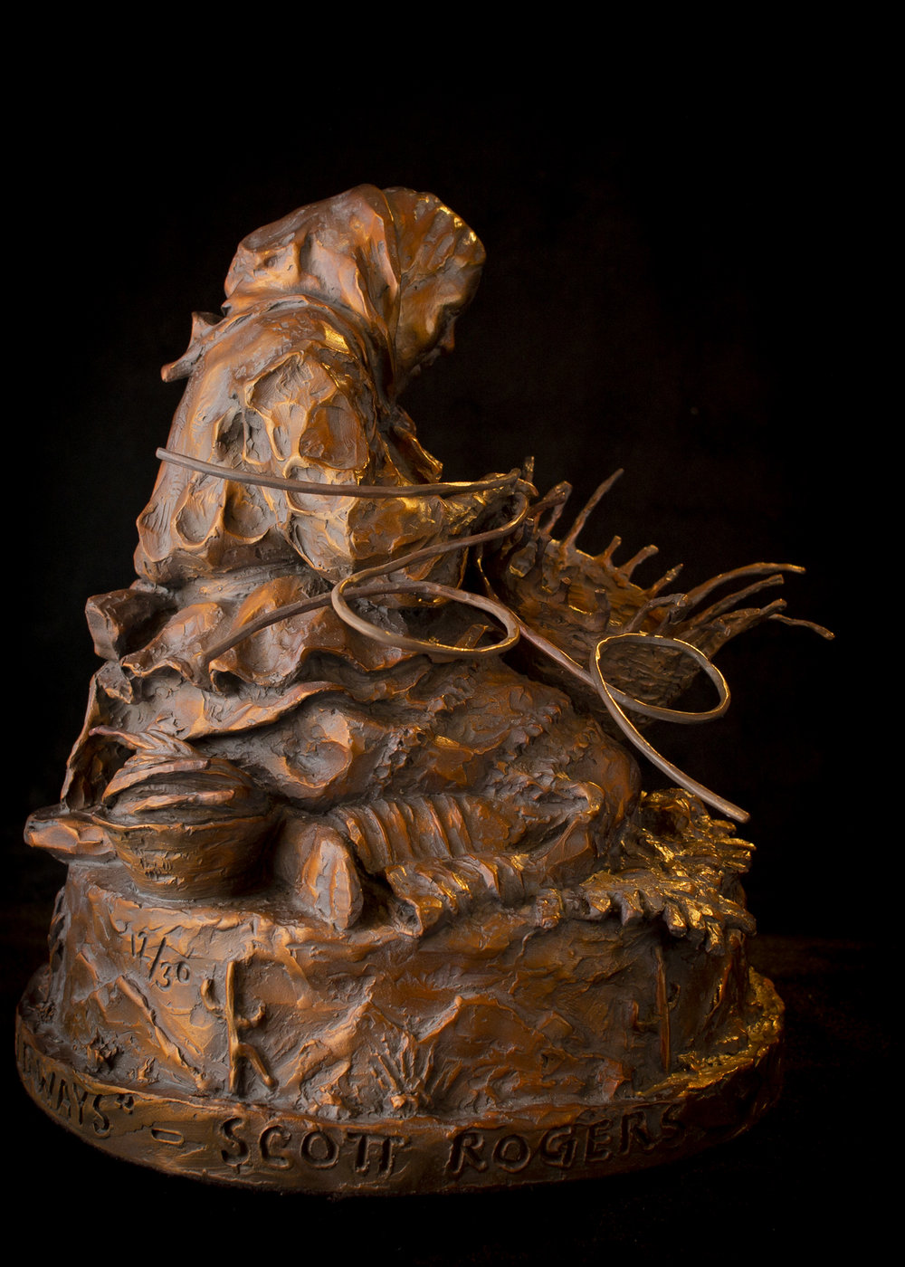 """Her Hands Know the Old Ways 