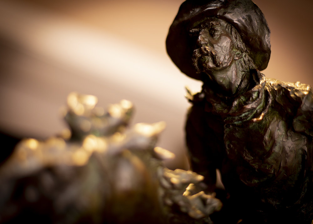 "Hightailin' | 32"" x 38"" x 17"" | Bronze | $16,000 | Edition of 30"