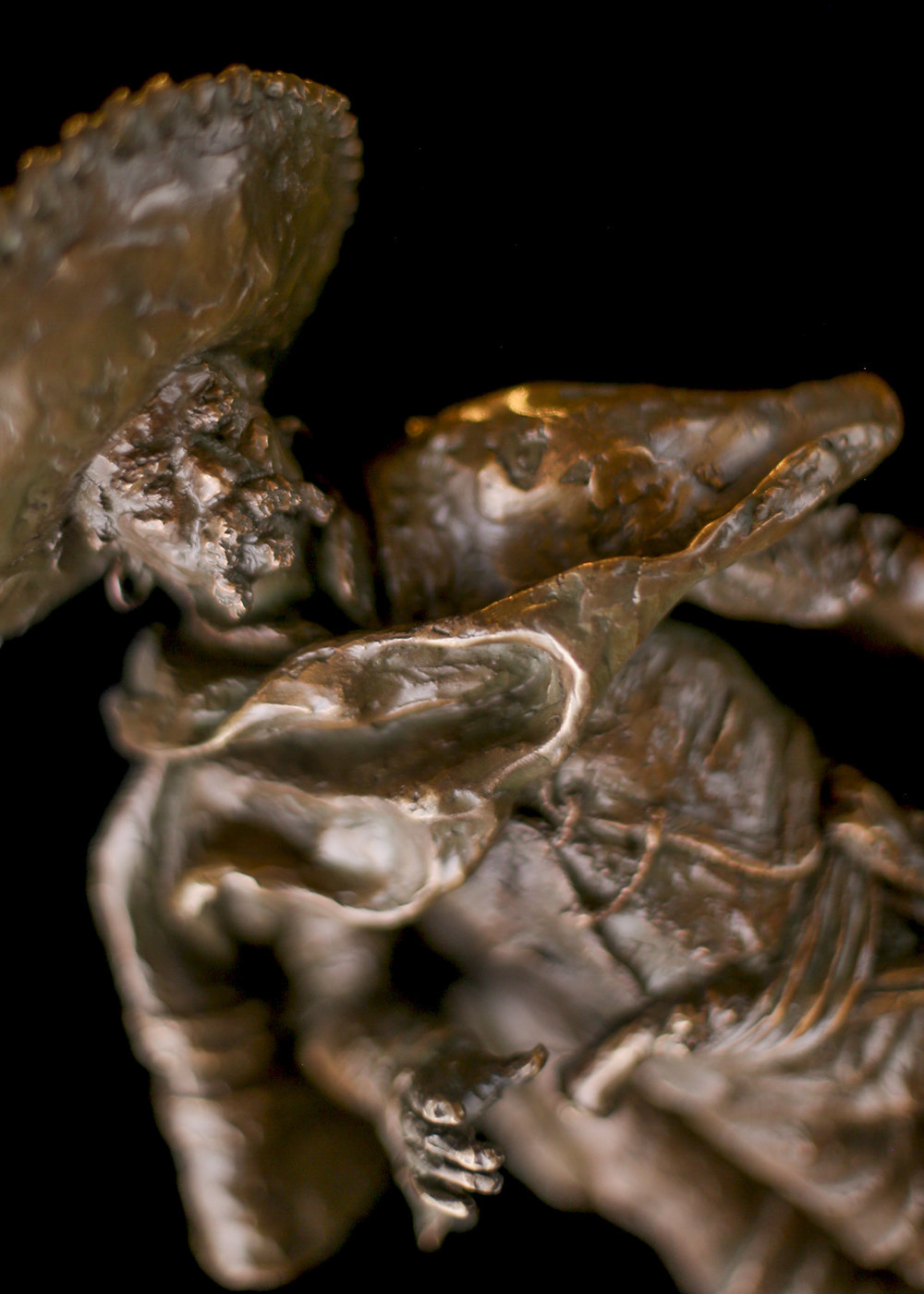 "Hombre De Palabra | 17.5"" x 8"" x 9"" | Bronze | $2,900 | Edition of 30"
