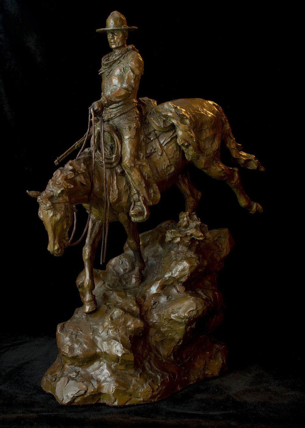 """My Gut Tells Me Those Steers Don't Just Wander Off 