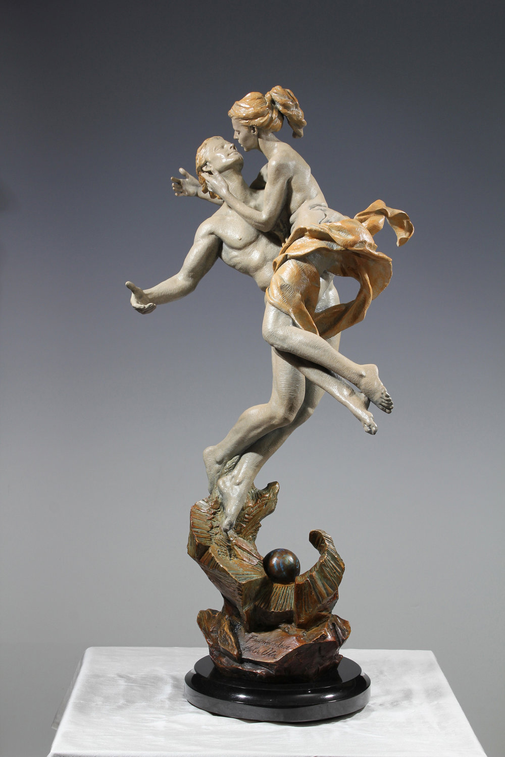 "Falling in Love | 33"" x 16"" x 10""