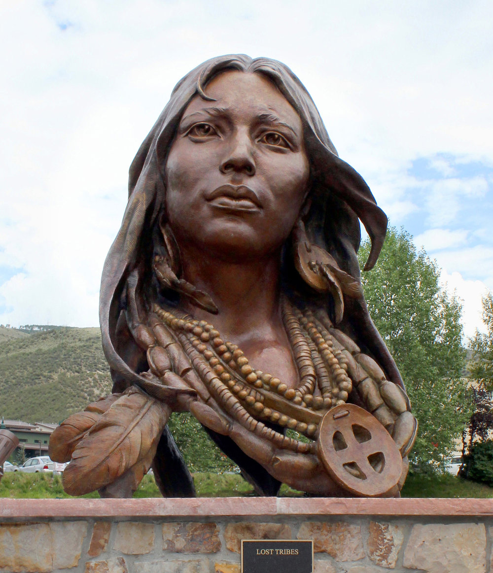 Lost Tribes (Monument) | 8' x 6' x 6' | Bronze | $145,000