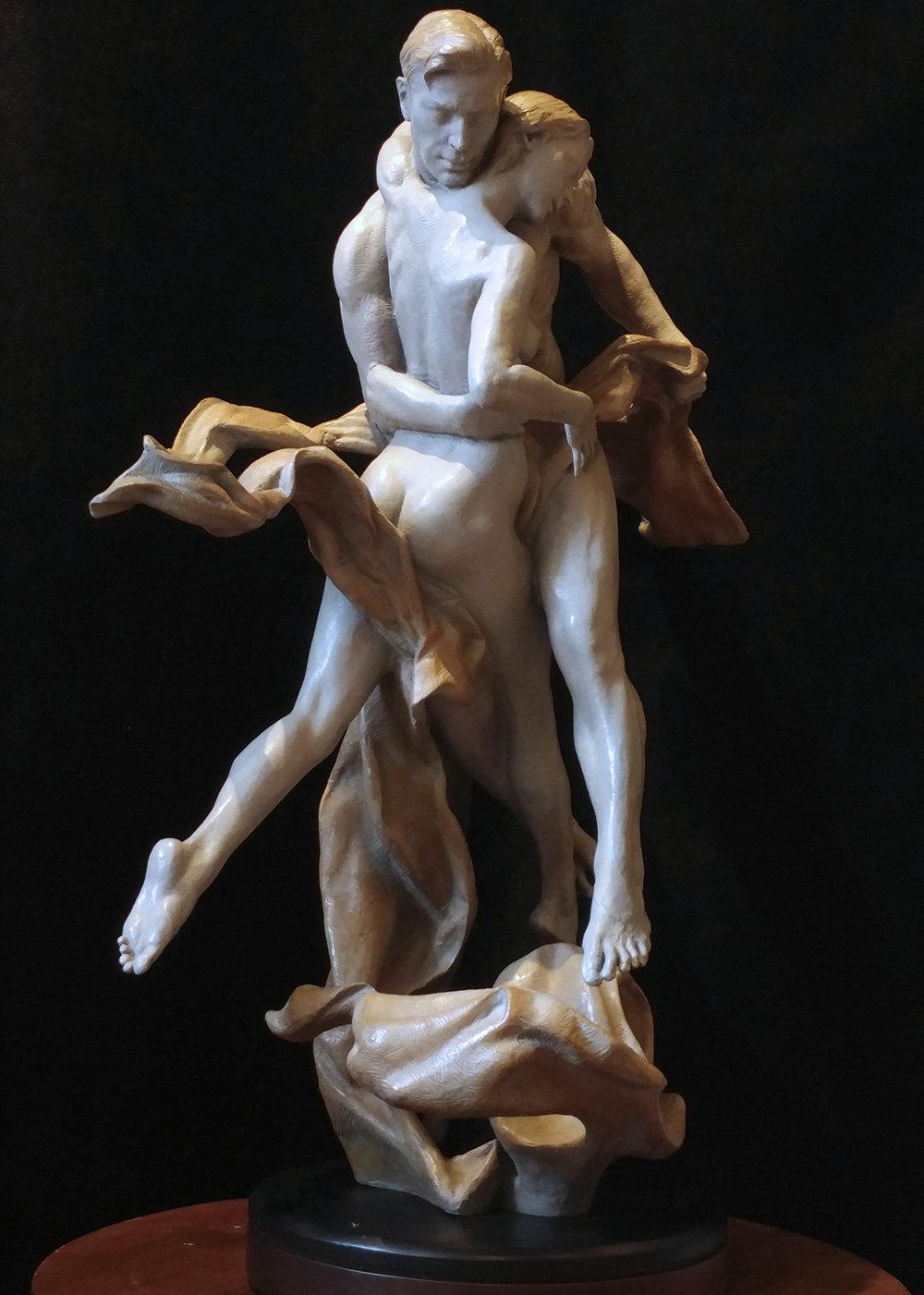 "Passion | 29"" x 22"" x  11"" | Bronze | $9,200"