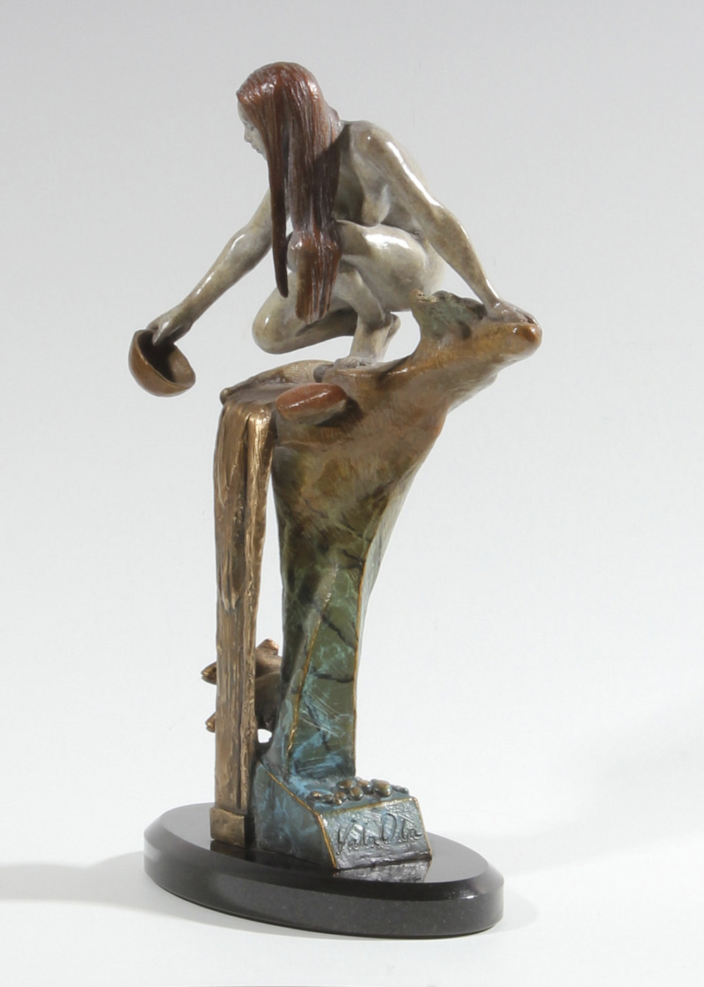 "River Song | 14"" x 7"" x 4"" 