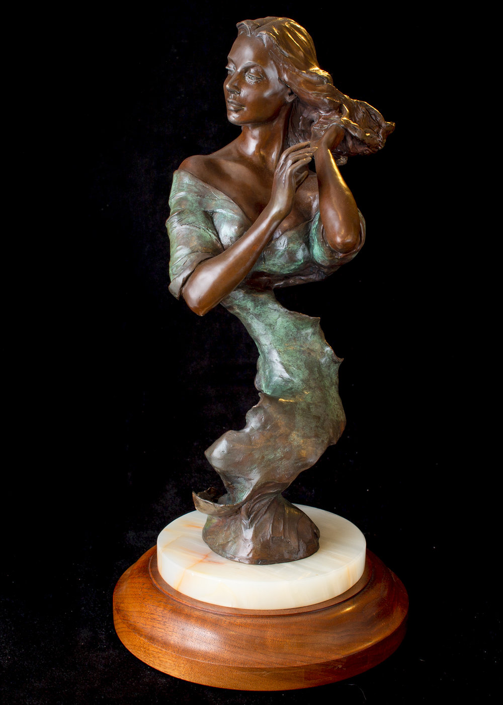 "April | 21"" x 10"" x 10"" 