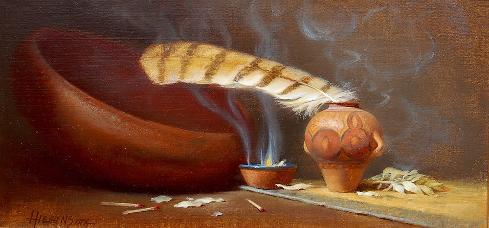"Blessings | 10"" x 20"" | Original Oil Painting | $3,300"