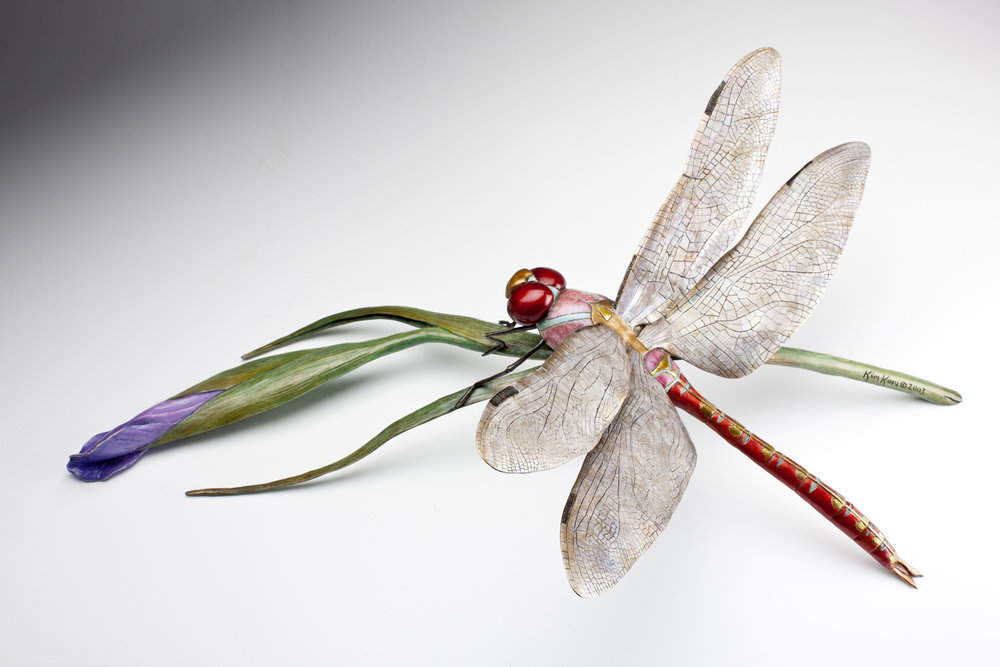 """Dragonfly at Rest 