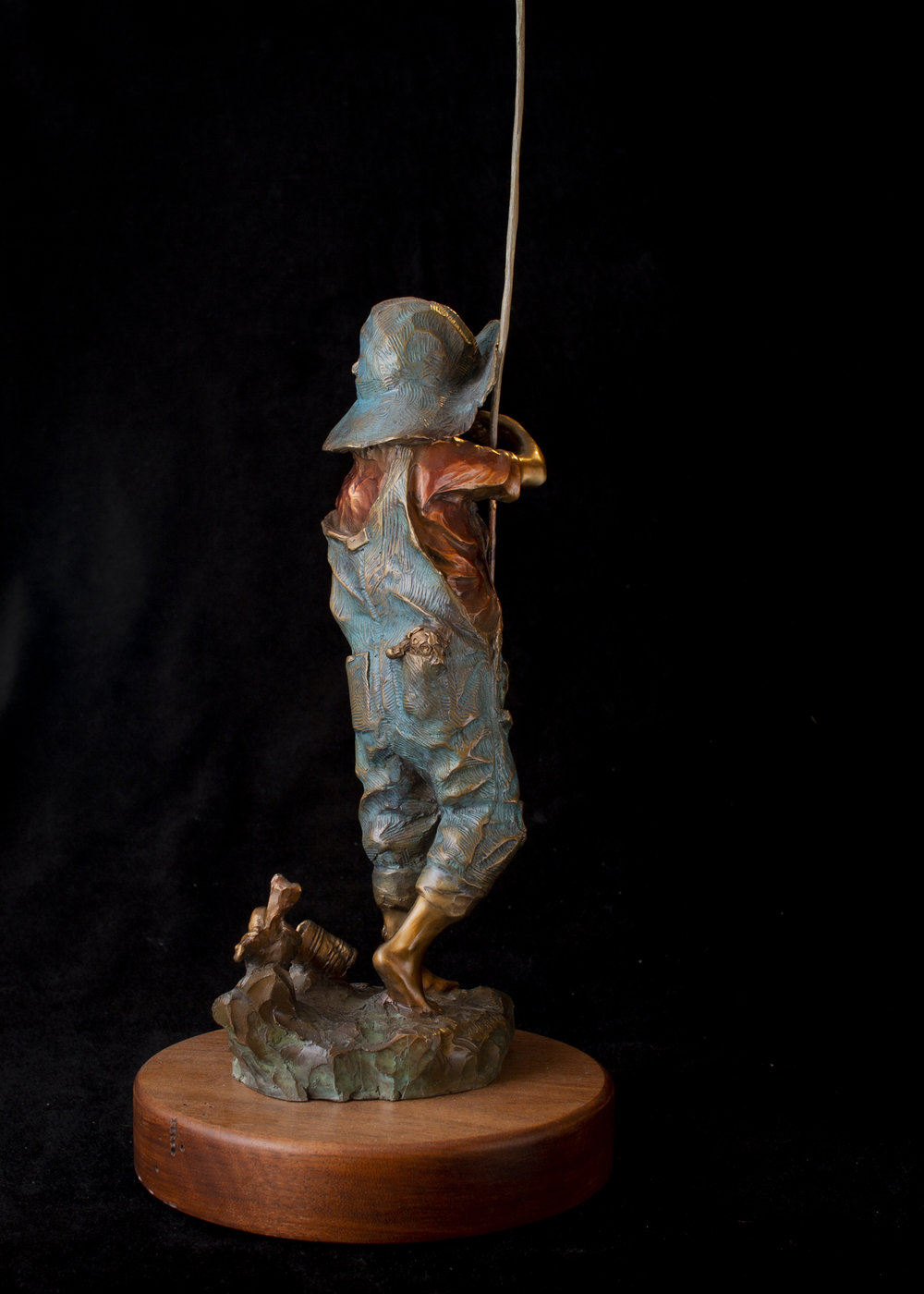 "Hook, Line, & No Sneakers | 22"" x 8"" x 8""