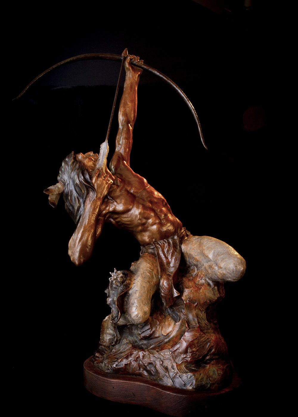"Heaven Bound | 28"" x 16"" x 10"" 