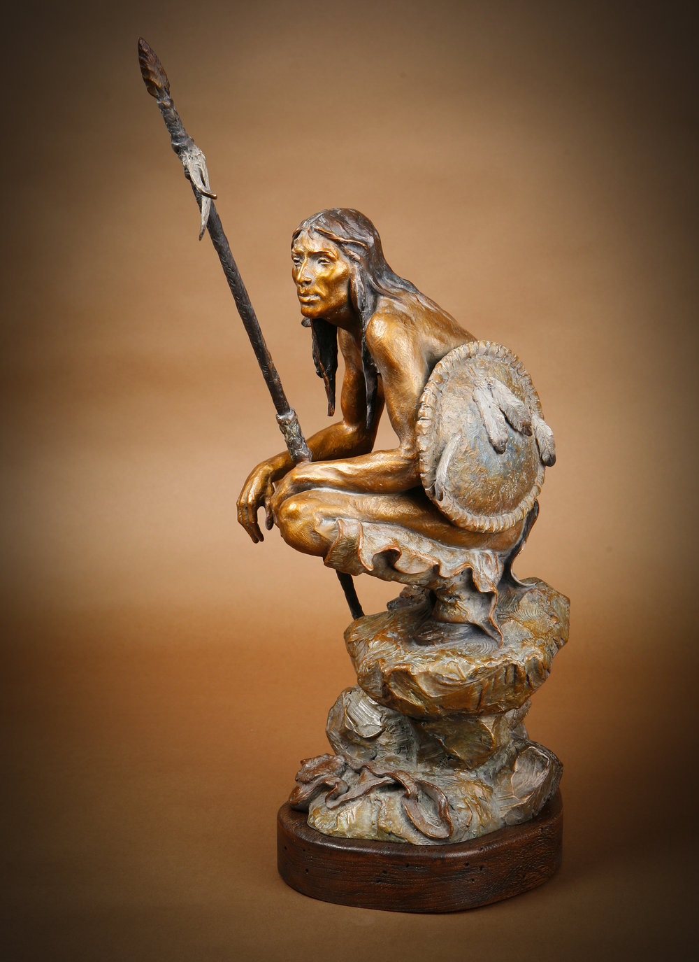 "The Watchman | 22"" x 11"" x 12"" 