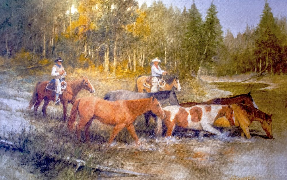 "One More Crossing | 20"" x 30"" 