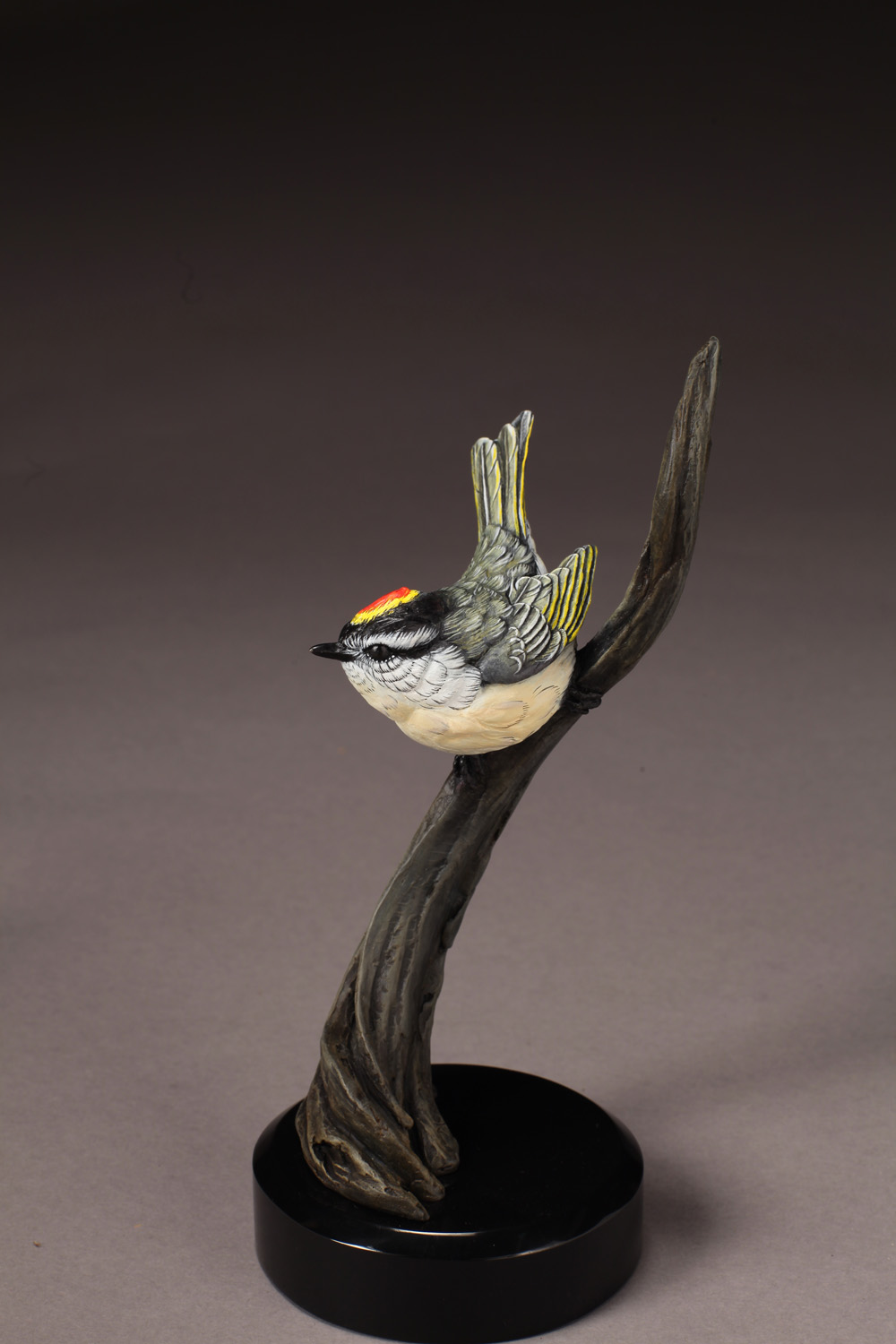 "Golden Corwned Kinglet | 8.5"" x 4""