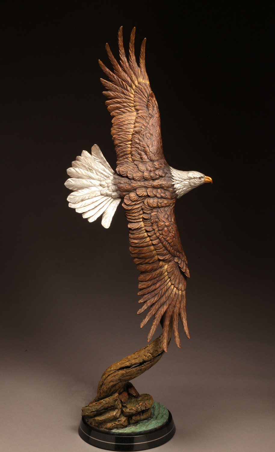 "Soaring Majesty | 52""x 19"" x 18"" 