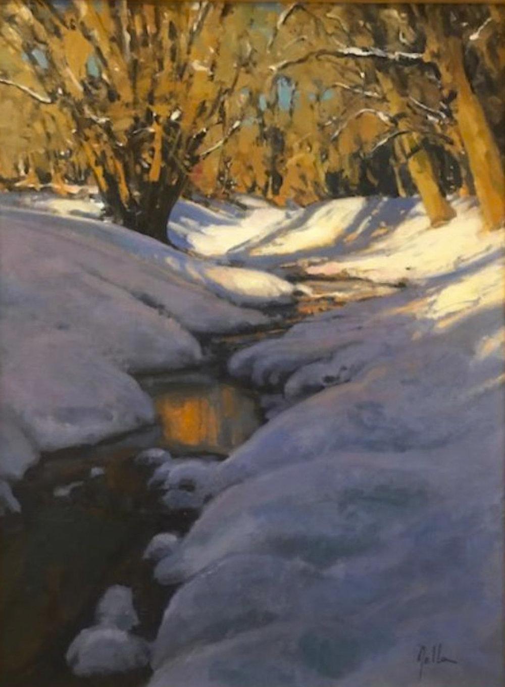 """Glow"" | 24"" x 18"" | Original Oil Painting | $3,250 | By Bill Gallen"