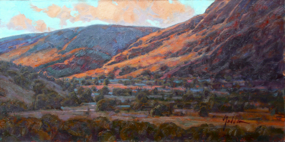 Light in the Valley | 15' x 30"