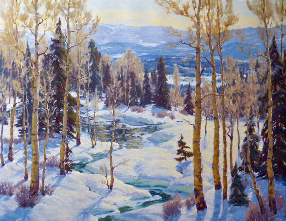 """April's Waxing Sun 