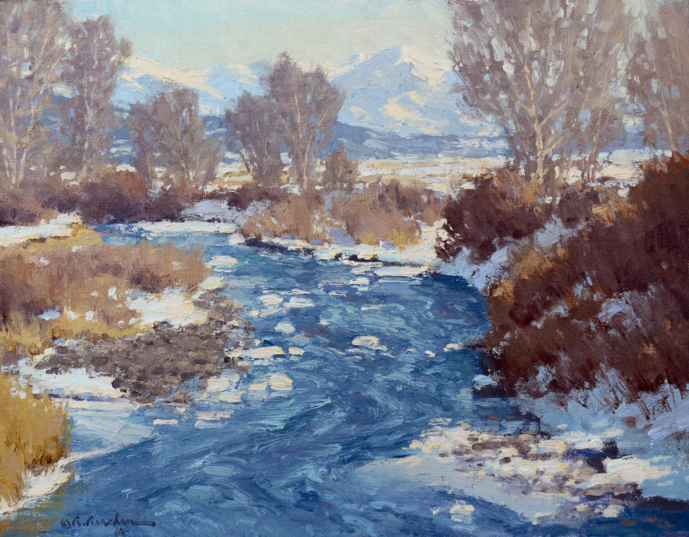 "March Thaw | 11"" x 14"" 