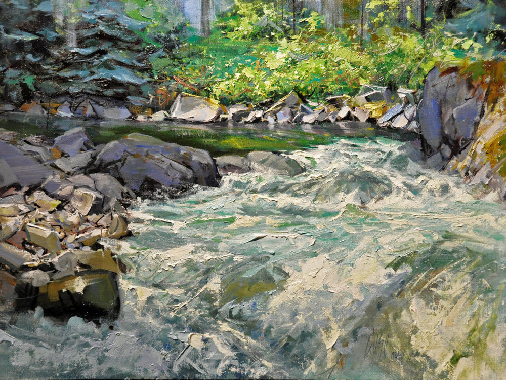 "Swiftwater | 18"" x 24"" 