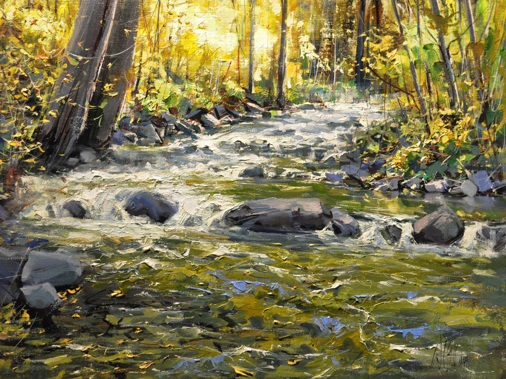 "Taos Crossing | 18"" x 24"" 