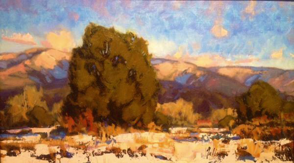 "Winter Warmth | 12"" x 21"" 