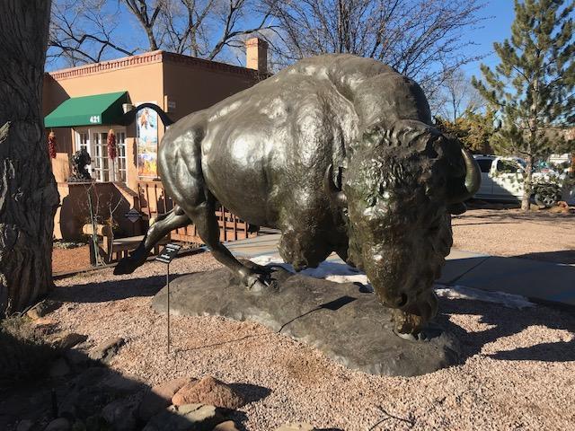 "American Bison- monument   Bronze   6'9"" x 11' 6"" x 6""   $95,000"