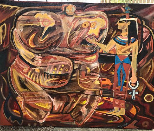 #contemporaryart #evanstonmade #fengshui #venusofhohlefels #ichingfire