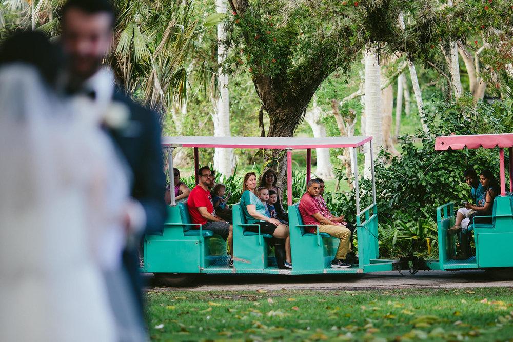 funny-ceremony-moments-tiny-house-photo-flamingo-gardens-wedding.jpg