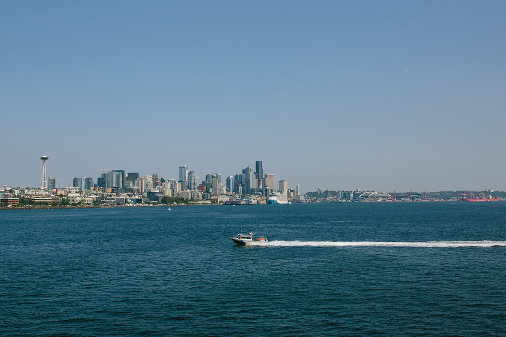 seattle skyline from the ruby princess ship vacation pictures tiny house photo