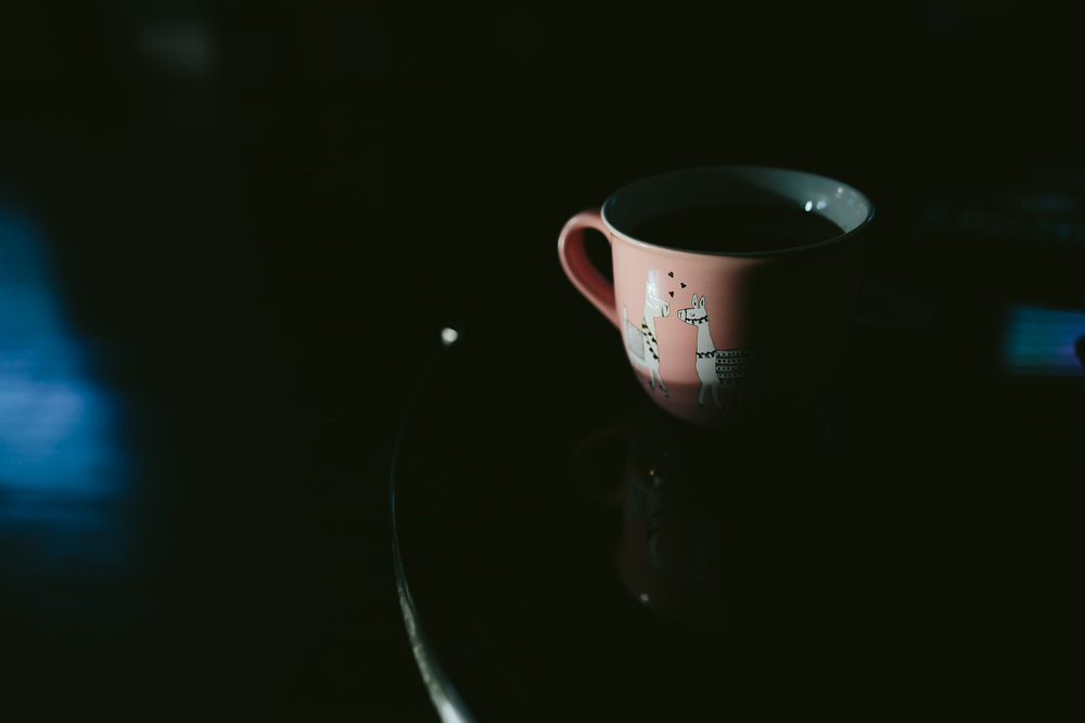 coffee, work your magic.