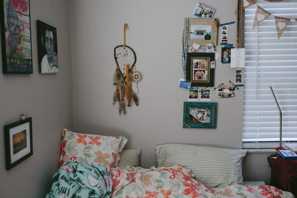 my space. dream catchers. photos. memories. butterflies and llamas. i love my nest.