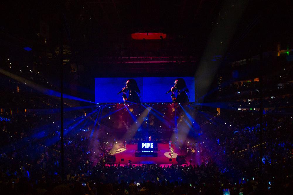 migos opening act drake concert 2018 atlanta by tiny house photo
