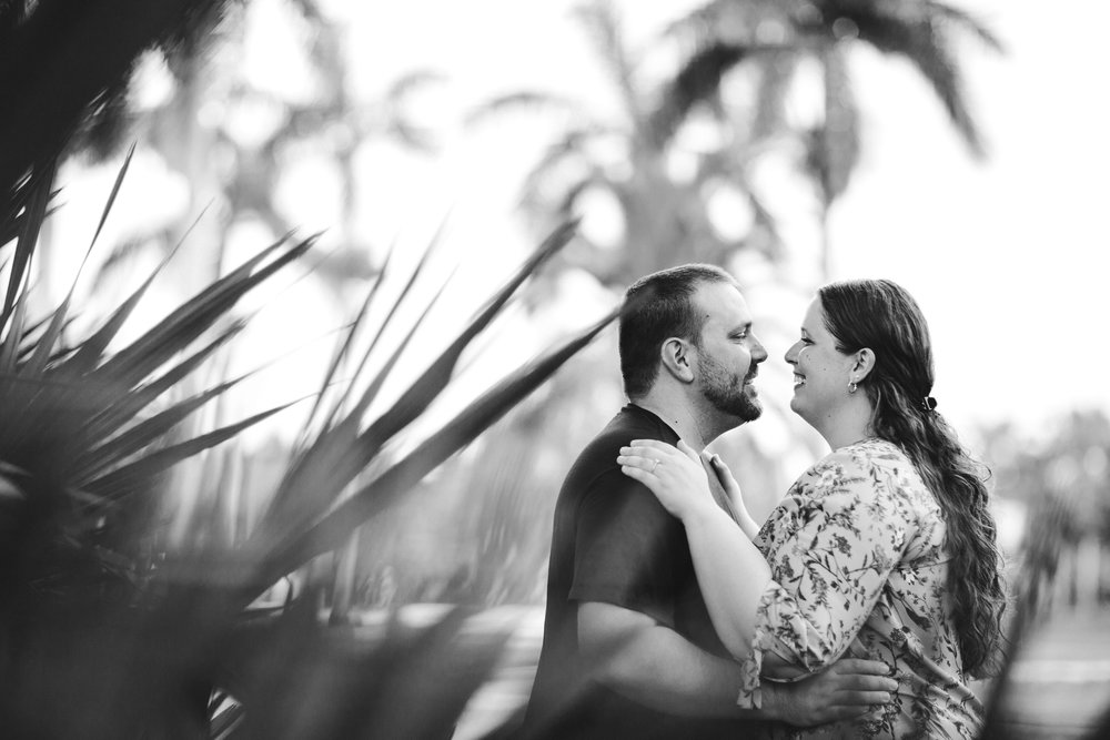 South_Florida_Engagement_Session_Wedding_Photographer_Black_And_White_Photograph.jpg