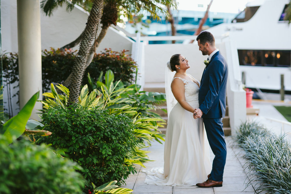 she was a total rockstar the day of the wedding… -