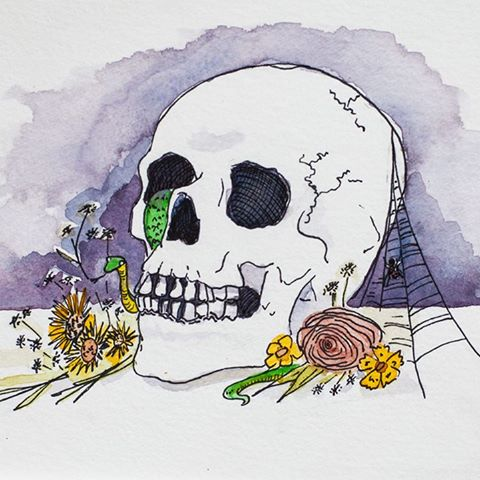 Memento Mori by  Rebecca Wood