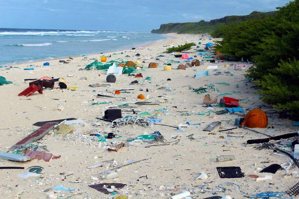henderson island beach