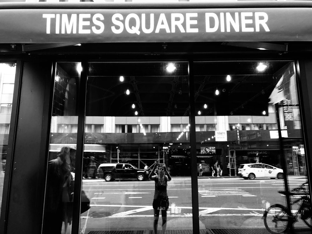 Image taken by Sara Kreski, Times Square Diner and Grill - 2018.