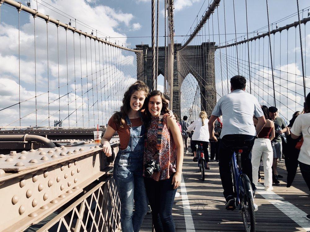 Photo taken by New Yorker, Edited by Samantha McHenry. Brooklyn Bridge, October 2018.