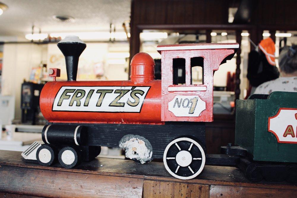 Photo taken by Samantha McHenry, Fritz's Restaurant, August 2018.