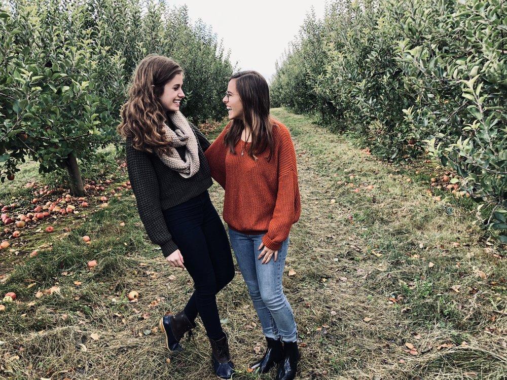 Image taken by Alex Vinh. Pennings Farm Apple Orchard, October 2018.